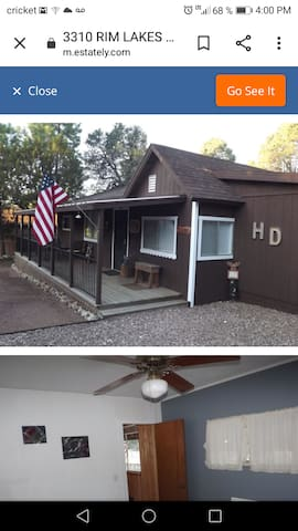 The cozy cabin.