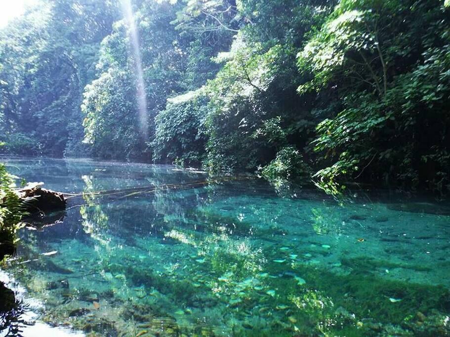 Tour de medio día a Laguna Azul