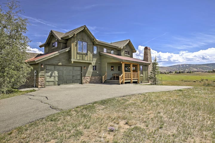 NEW! Rustic 3BR Granby House w/ Mtn Views!