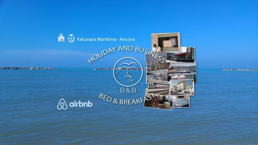 Near to the Sea, Cozy Room - Bed&Breakfast - Falconara Marittima - Apartamento