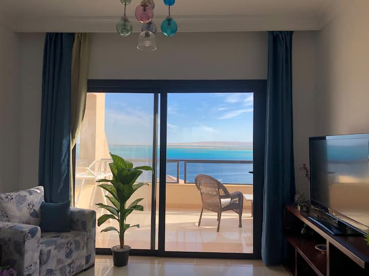 Entire Apartment with Panoramic View of Hurghada