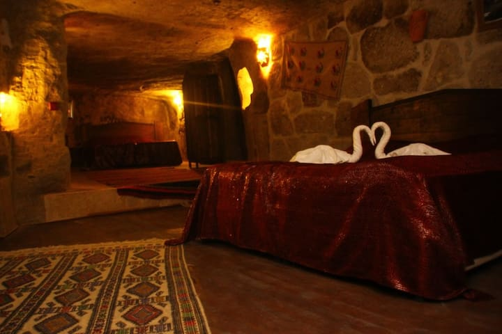 Accomodation in cave boutique hotels in Cappadocia - Güzelyurt