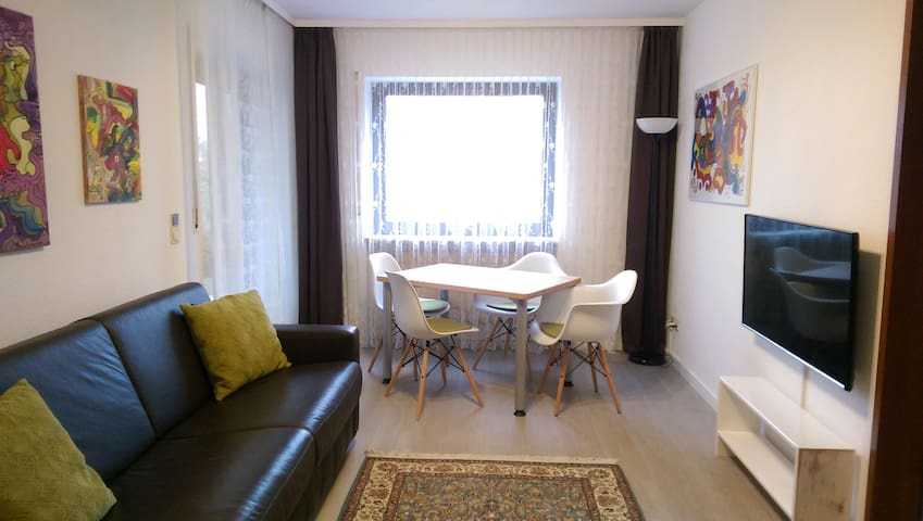 Ferienwohnung Lina, stadtnah, ruhige Lage - Bad Kissingen - Appartement
