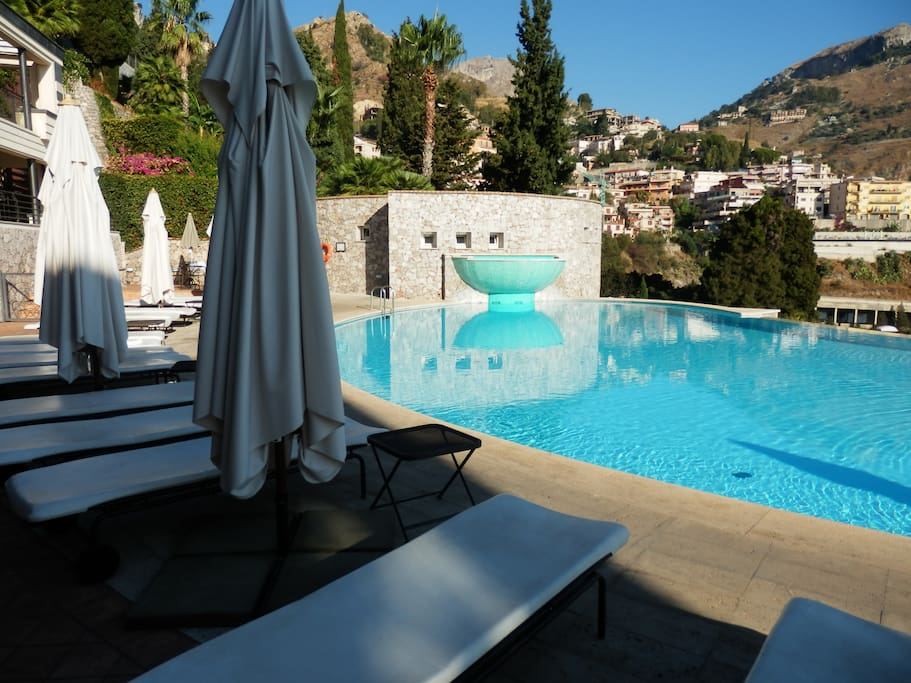 Panoramic Apartment In Taormina Apartments For Rent In