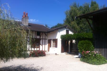 Jolie ferme rénovée en Champagne Lac du Der - Droyes - 一軒家