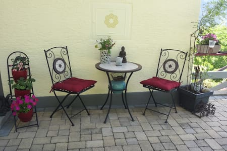 Terrassen-Ferienwohnung mit TRAUMHAFTER AUSSICHT - Millstatt - Apartamento