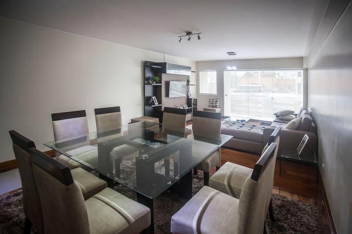 Comfortable Apartment in Miraflores - Miraflores - Apartment