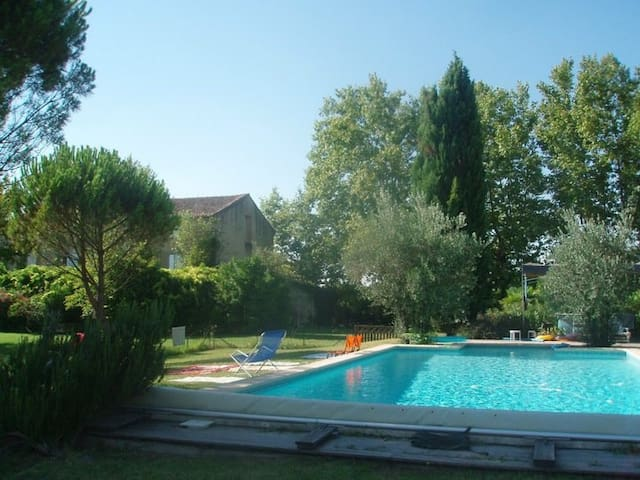 Beau mas en Provence avec piscine  - Althen-des-Paluds - Casa