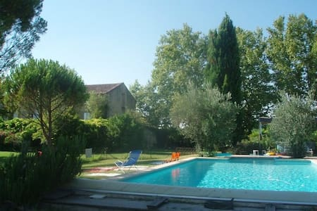 Beau mas en Provence avec piscine  - Althen-des-Paluds - Hus