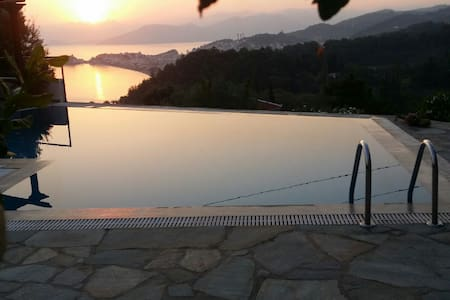 Samos View to the Aegean Villa - Samos - House