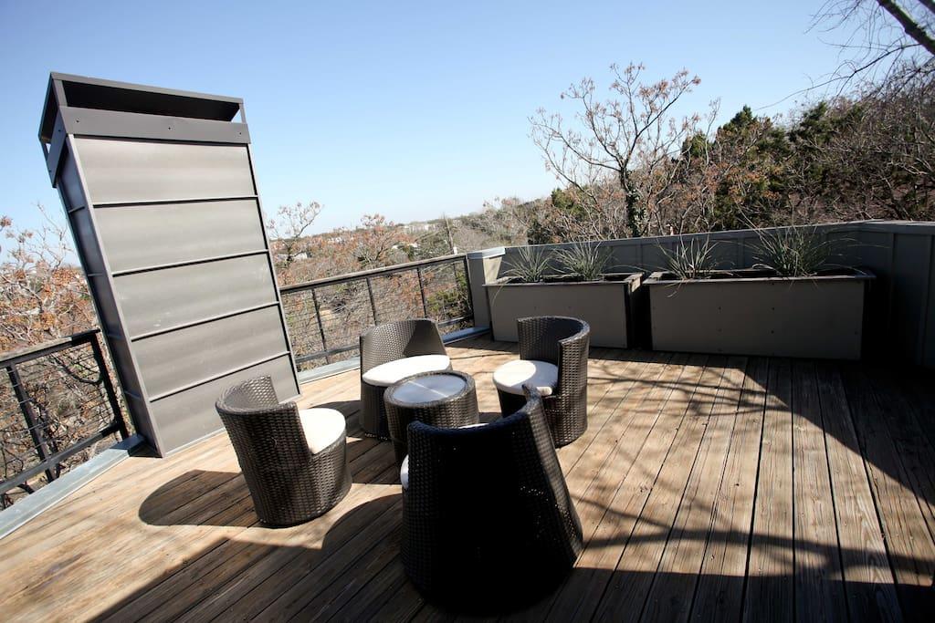 Outdoor living in austin tx huizen te huur in austin for Sofa exterior aki