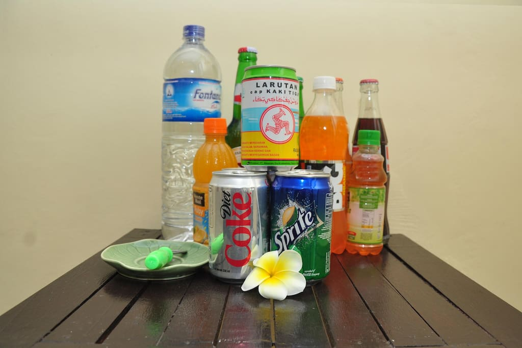 Softdrink and Mineral Water with Additional Fee