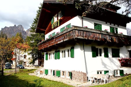 Cortina - in sunny area, very close to the center - Cortina d'Ampezzo - Apartmen