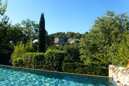 Provencal Luxury Villa with pool  - Le Beaucet - Talo