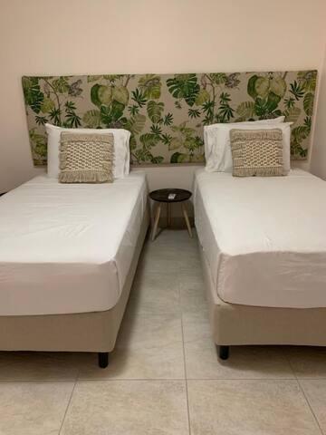 Twin Configuration in Bedroom 2