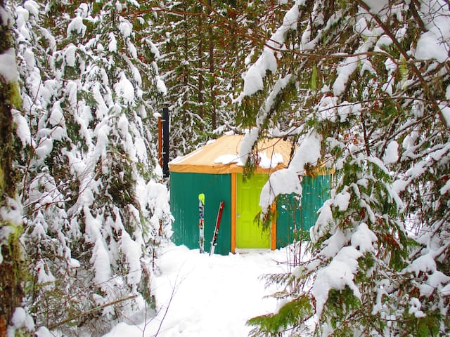Forest Yurt; classic nomad home!