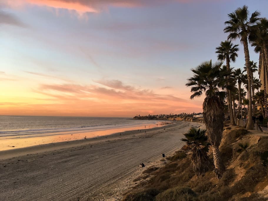 Sunset in Pacific Beach...