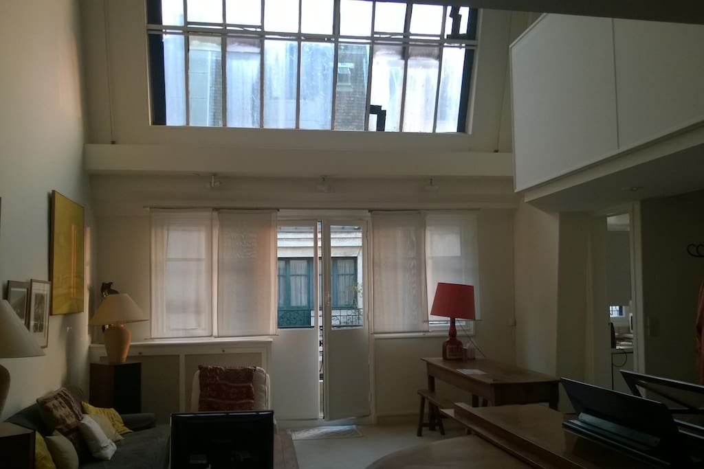Atelier d 39 artiste denfert raspail appartements louer paris le de - Location atelier artiste paris ...