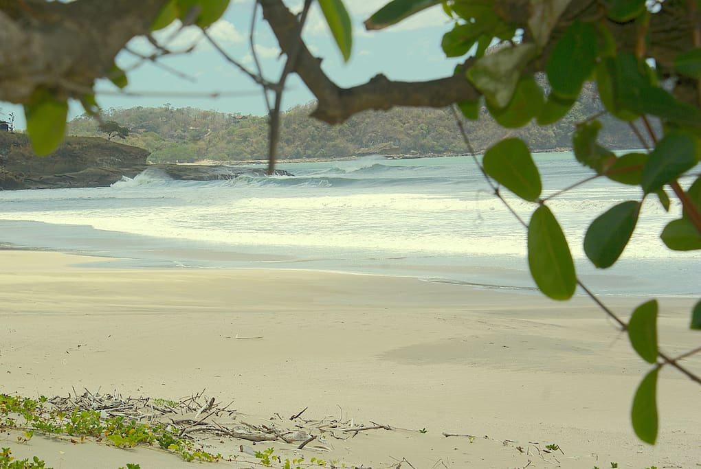 This beach is a short walk away and is great for surfing and the most beautiful beach in Nicaragua.