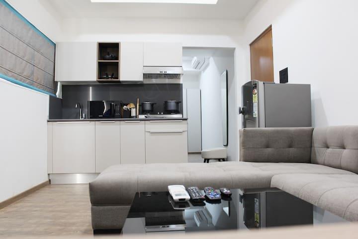 One Bedroom Studio Apartment,Jubilee Hills,Road#44