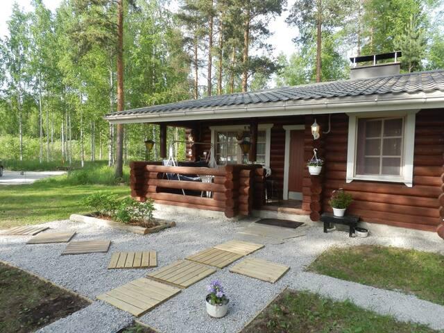 Houses on the island .Nuottalahti. - Itä-SOISALO - Huis