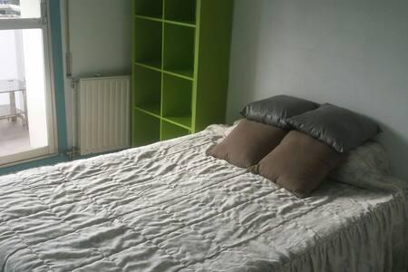Habitación doble privada - Donostia