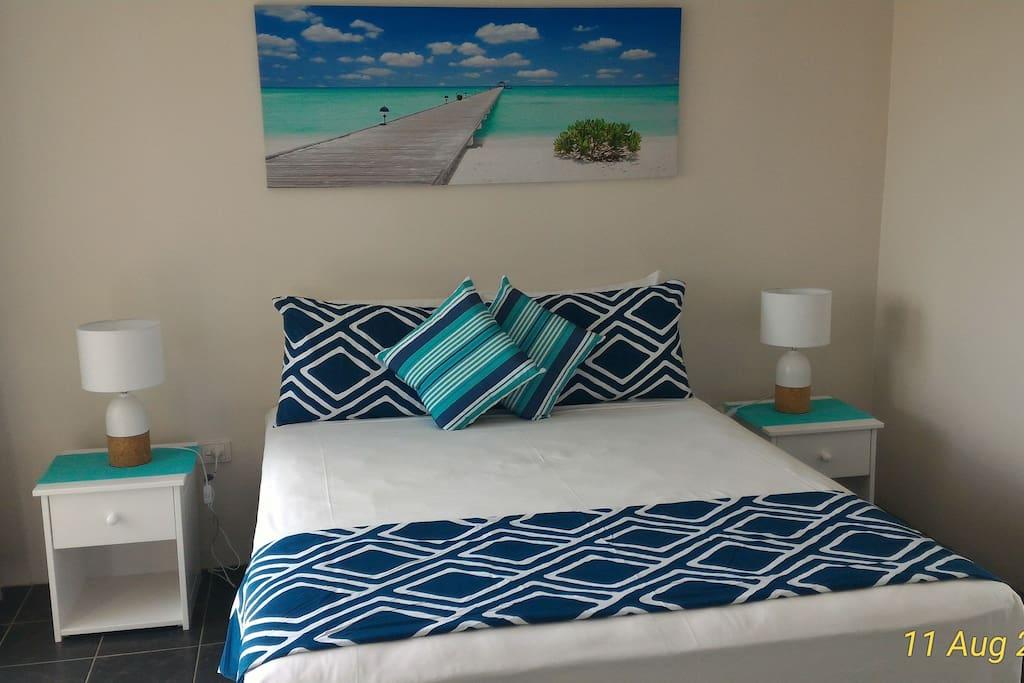Bedroom - brand new queen size comfort