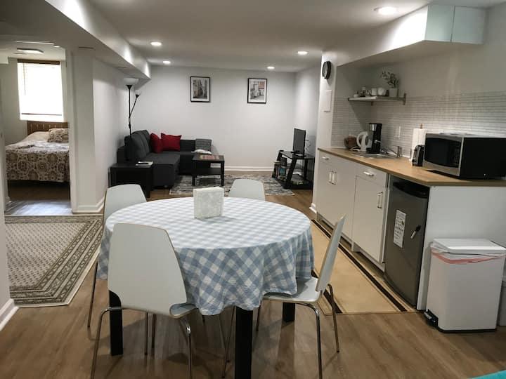 Brand New Cozy Entire Basement Apartment Near DC