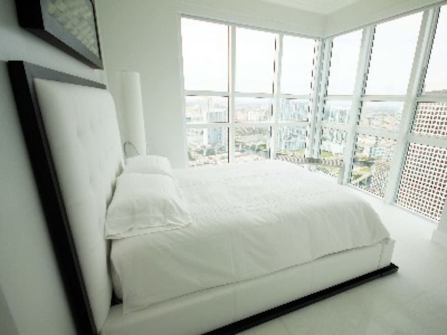 Amazing view from the master bedroom!