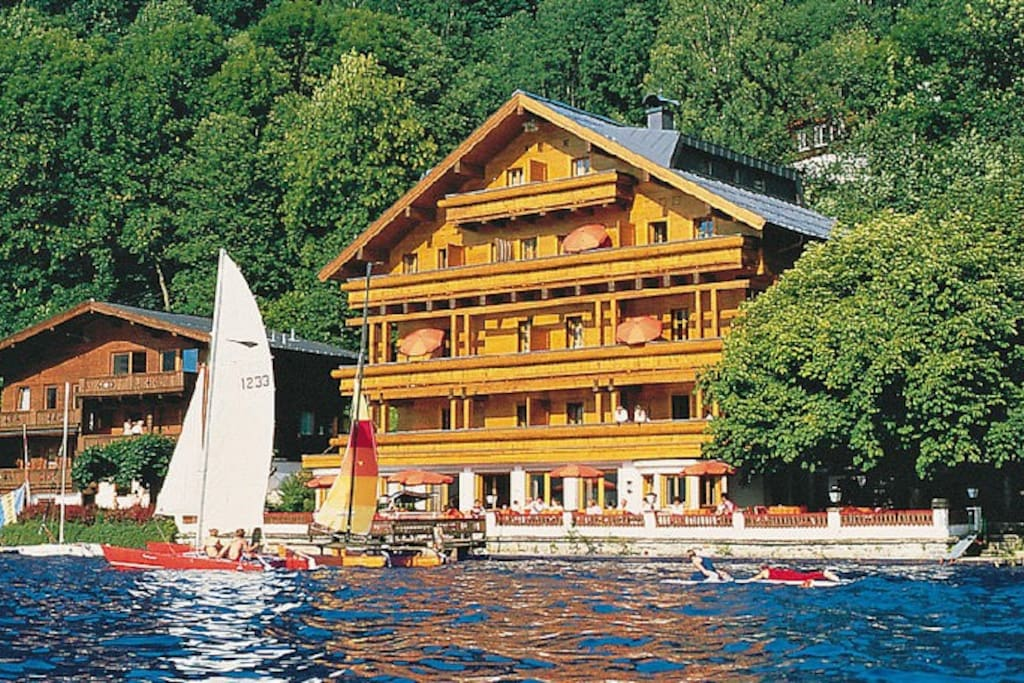 Apartment Kitzsteinhorn direct lakeside