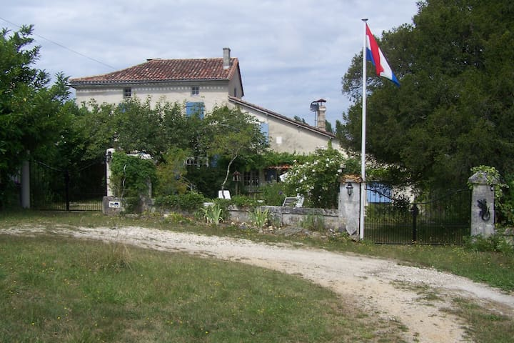 Landelijke rust in de Dordogne - Mareuil - 家庭式旅館