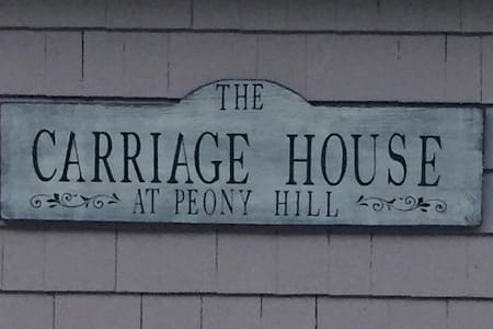 The Carriage House at Peony Hill