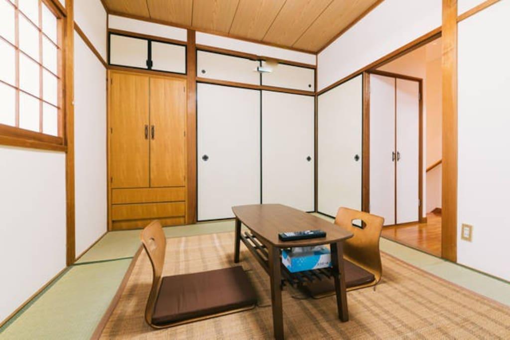ゲストルーム①:2F和室