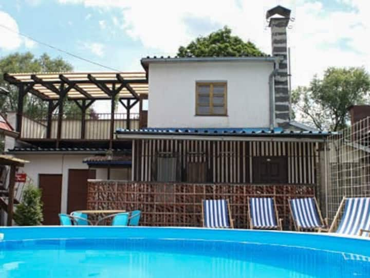 Apt for 4 persons with pool in Jivka R39358