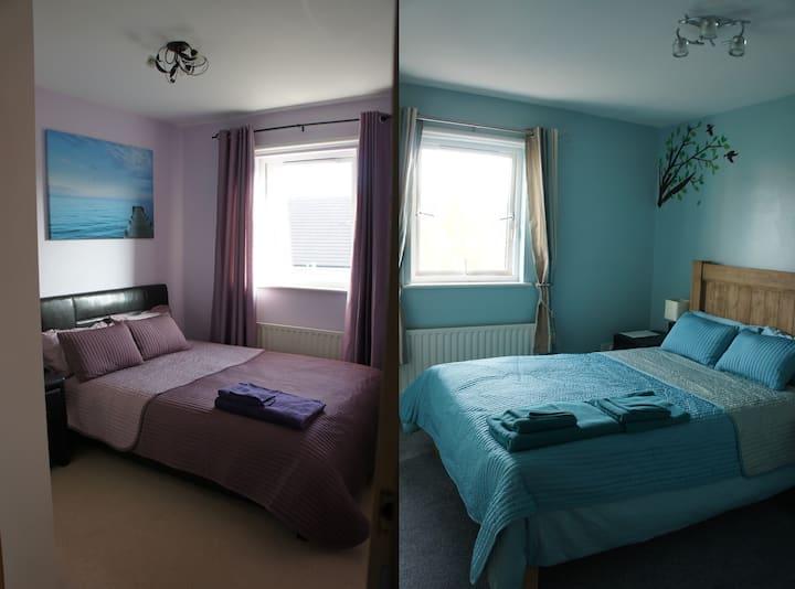 Accommodation for 5 (Dublin-W B&B)