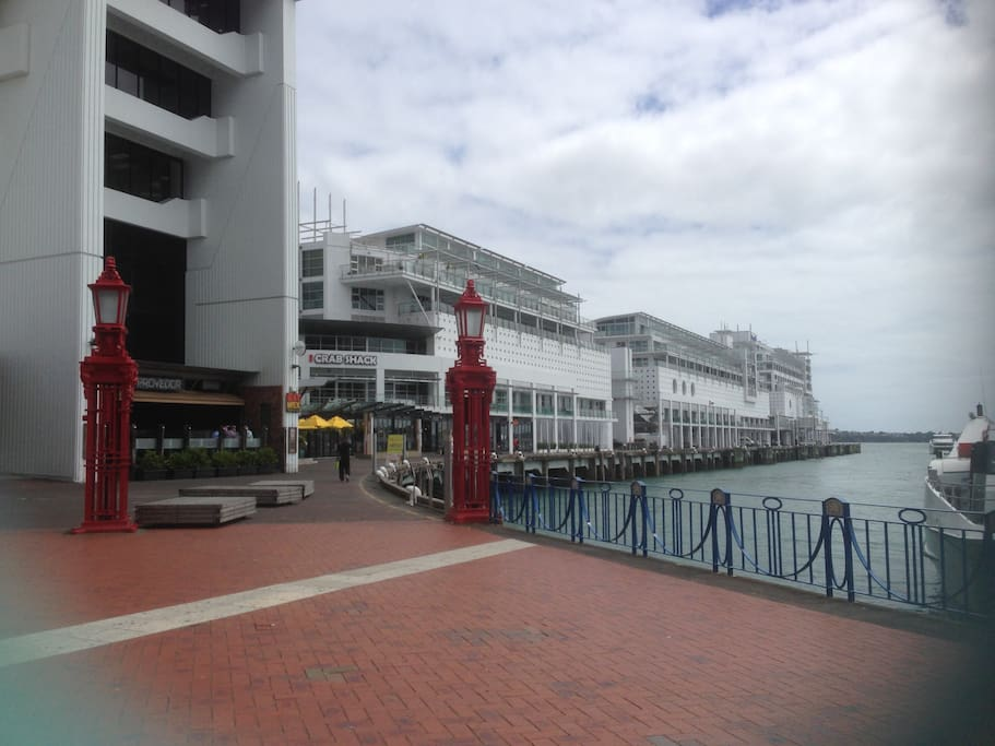 Princes Wharf from Ferry Building side