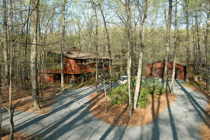 Exec. Suite Nestled in Woods - Private Entrance