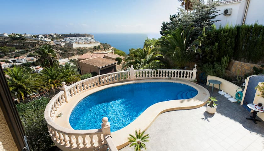 Impressive Villa with Seaview - Benitachell - Casa de camp