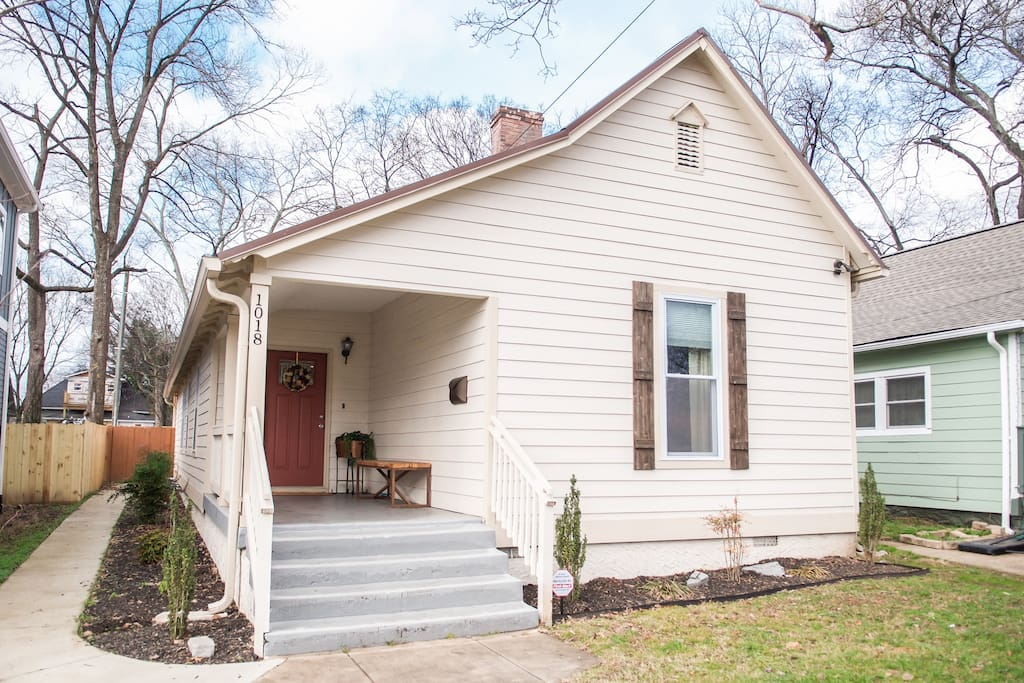 Charming East Nashville Historic Home Downtown Houses For Rent In Nashville Tennessee