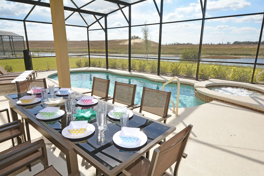 Pool,Water,Dining Table,Furniture,Table