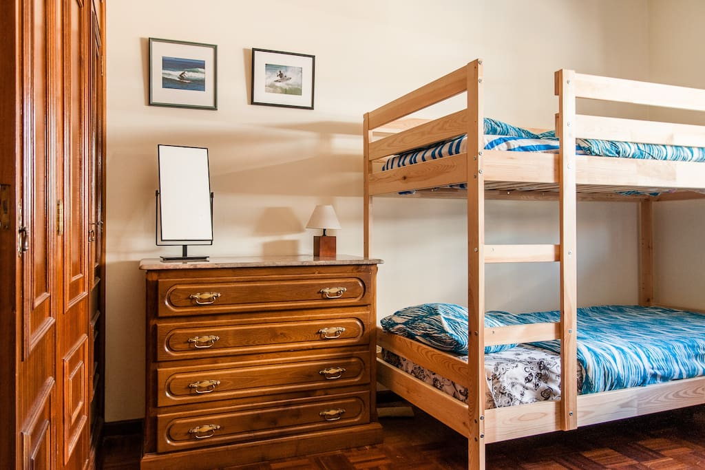 Shared bedroom best option for low budget guests