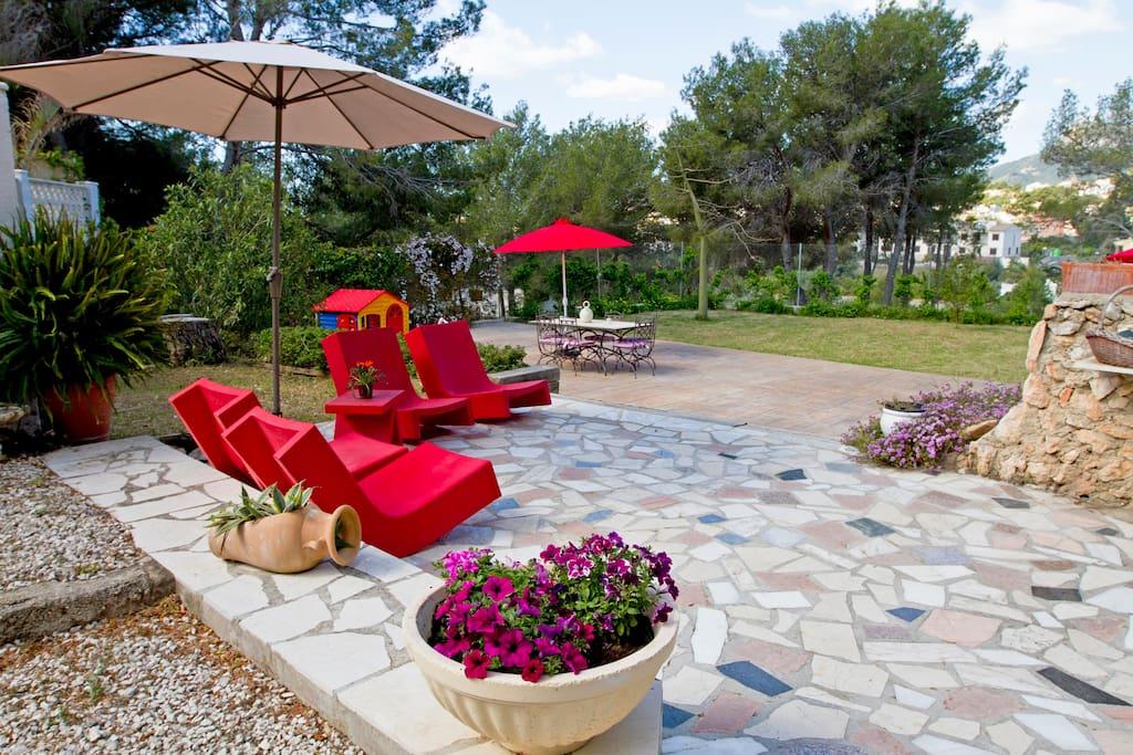 Casa con piscina especial para ni o casas en alquiler en for Decoracion casa 90m2