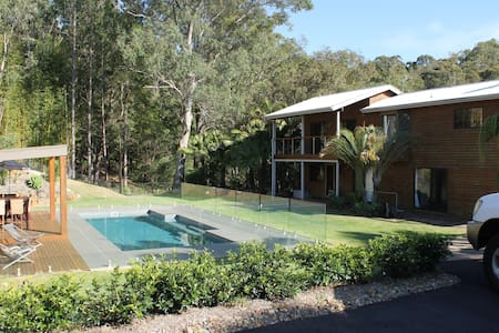 Bush Resort setting 6kms to Beach - Currumbin Waters - House