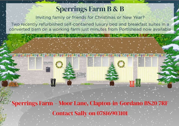 Sperrings Farm B&B, Relax in a rural retreat.