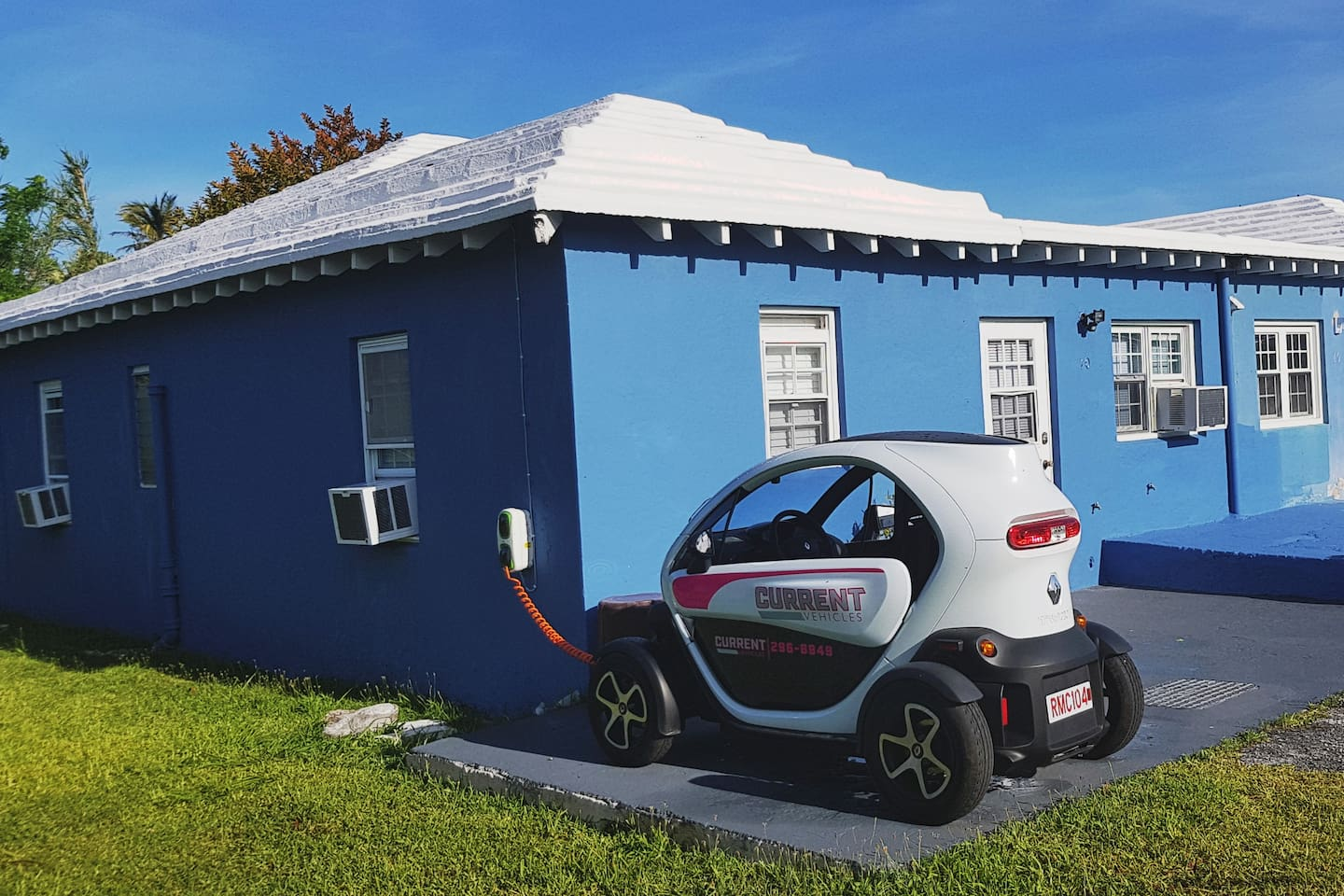 Acacia Court is in a Private Romantic Garden Setting with a Twizy Charger on the Property...