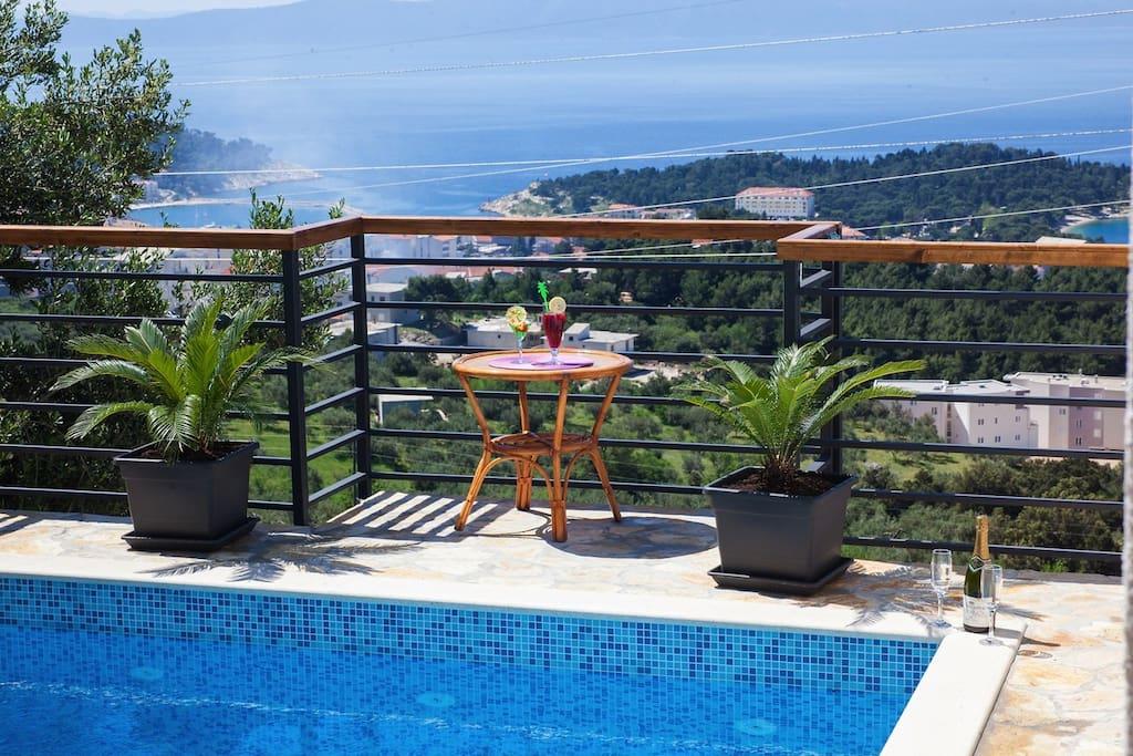 pool, view