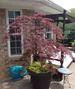 seluded garden in a great location - Kernersville - 獨棟
