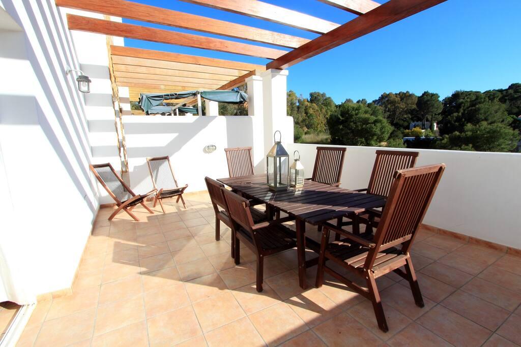 Casa en cala vadella con piscina privada casas en for Alquiler de casas con piscina privada