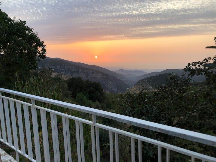 Qadisha1, private housing with amazing view