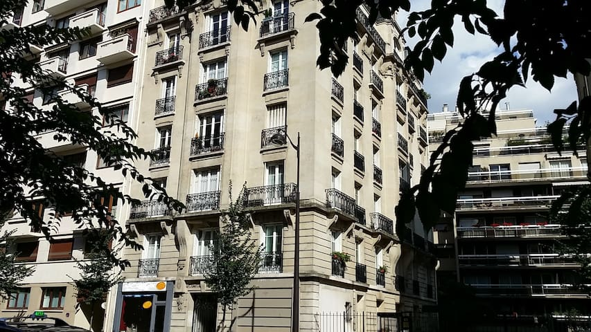 Typical Haussmannien Parisian flat - Paříž - Byt